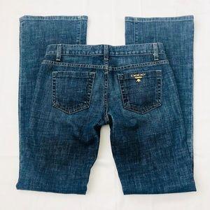 Bebe Premium Denim Bootcut Jean